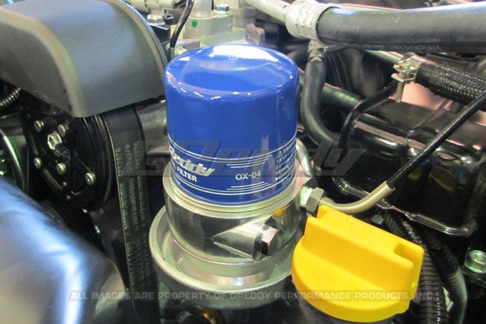 Frsoadpt on Oil Filter Relocation Kit