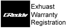 Exhaust Warranty Registration